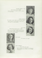Page 21, 1949 Edition, Presque Isle High School - Ship Yearbook (Presque Isle, ME) online yearbook collection