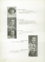 Page 22, 1949 Edition, Presque Isle High School - Ship Yearbook (Presque Isle, ME) online yearbook collection