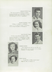 Page 29, 1949 Edition, Presque Isle High School - Ship Yearbook (Presque Isle, ME) online yearbook collection
