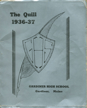 Gardiner Area High School - Quill Yearbook (Gardiner, ME) online yearbook collection, 1936 Edition, Page 1