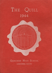Gardiner Area High School - Quill Yearbook (Gardiner, ME) online yearbook collection, 1944 Edition, Page 1