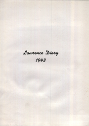 Page 3, 1943 Edition, Lawrence High School - Diary Yearbook (Fairfield, ME) online yearbook collection