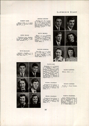 Page 12, 1945 Edition, Lawrence High School - Diary Yearbook (Fairfield, ME) online yearbook collection