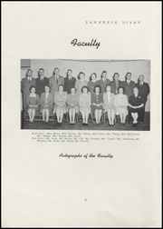 Page 10, 1947 Edition, Lawrence High School - Diary Yearbook (Fairfield, ME) online yearbook collection