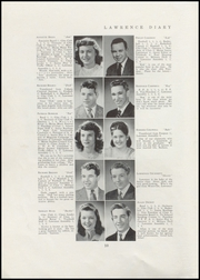 Page 12, 1947 Edition, Lawrence High School - Diary Yearbook (Fairfield, ME) online yearbook collection