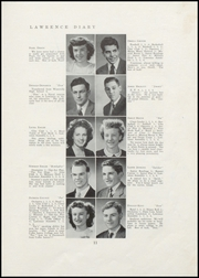 Page 13, 1947 Edition, Lawrence High School - Diary Yearbook (Fairfield, ME) online yearbook collection
