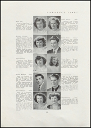 Page 14, 1947 Edition, Lawrence High School - Diary Yearbook (Fairfield, ME) online yearbook collection