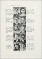 Page 15, 1947 Edition, Lawrence High School - Diary Yearbook (Fairfield, ME) online yearbook collection