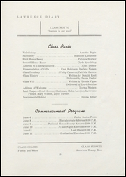 Page 17, 1947 Edition, Lawrence High School - Diary Yearbook (Fairfield, ME) online yearbook collection