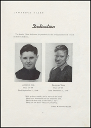 Page 9, 1947 Edition, Lawrence High School - Diary Yearbook (Fairfield, ME) online yearbook collection