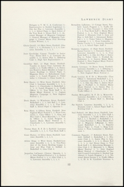 Page 14, 1950 Edition, Lawrence High School - Diary Yearbook (Fairfield, ME) online yearbook collection