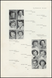 Page 8, 1950 Edition, Lawrence High School - Diary Yearbook (Fairfield, ME) online yearbook collection