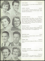 Page 12, 1957 Edition, Lawrence High School - Diary Yearbook (Fairfield, ME) online yearbook collection