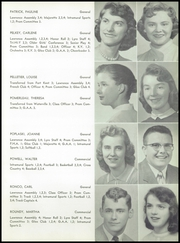 Page 17, 1957 Edition, Lawrence High School - Diary Yearbook (Fairfield, ME) online yearbook collection