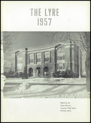 Page 5, 1957 Edition, Lawrence High School - Diary Yearbook (Fairfield, ME) online yearbook collection