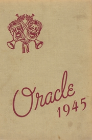 1945 Edition, Edward Little High School - Oracle Yearbook (Auburn, ME)
