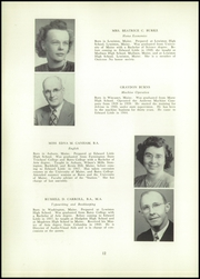 Page 14, 1952 Edition, Edward Little High School - Oracle Yearbook (Auburn, ME) online yearbook collection