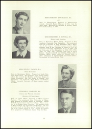Page 15, 1952 Edition, Edward Little High School - Oracle Yearbook (Auburn, ME) online yearbook collection