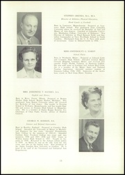 Page 17, 1952 Edition, Edward Little High School - Oracle Yearbook (Auburn, ME) online yearbook collection