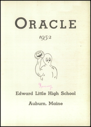 Page 3, 1952 Edition, Edward Little High School - Oracle Yearbook (Auburn, ME) online yearbook collection