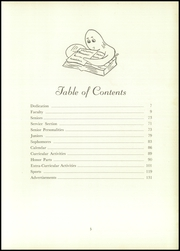 Page 7, 1952 Edition, Edward Little High School - Oracle Yearbook (Auburn, ME) online yearbook collection