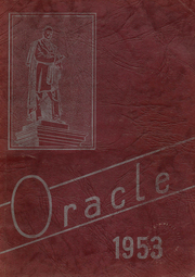 1953 Edition, Edward Little High School - Oracle Yearbook (Auburn, ME)