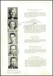 Page 14, 1954 Edition, Edward Little High School - Oracle Yearbook (Auburn, ME) online yearbook collection