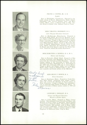 Page 16, 1954 Edition, Edward Little High School - Oracle Yearbook (Auburn, ME) online yearbook collection