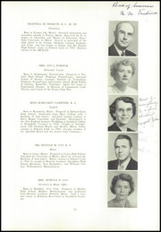Page 17, 1954 Edition, Edward Little High School - Oracle Yearbook (Auburn, ME) online yearbook collection
