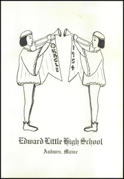 Page 5, 1954 Edition, Edward Little High School - Oracle Yearbook (Auburn, ME) online yearbook collection