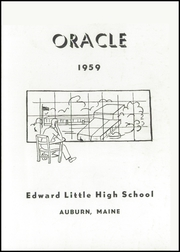 Page 3, 1959 Edition, Edward Little High School - Oracle Yearbook (Auburn, ME) online yearbook collection