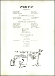 Page 7, 1960 Edition, Edward Little High School - Oracle Yearbook (Auburn, ME) online yearbook collection