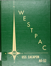 1966 Edition, Cacapon (AO 52) - Naval Cruise Book