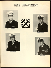 Page 15, 1971 Edition, Cacapon (AO 52) - Naval Cruise Book online yearbook collection