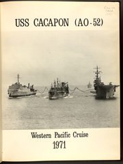 Page 3, 1971 Edition, Cacapon (AO 52) - Naval Cruise Book online yearbook collection