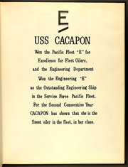 Page 5, 1971 Edition, Cacapon (AO 52) - Naval Cruise Book online yearbook collection
