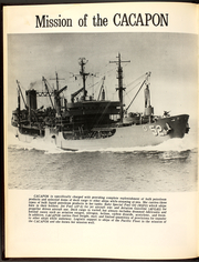 Page 8, 1971 Edition, Cacapon (AO 52) - Naval Cruise Book online yearbook collection