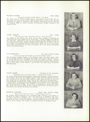 Page 7, 1955 Edition, Windham High School - Windonian Yearbook (Windham, ME) online yearbook collection