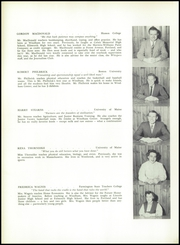 Page 8, 1955 Edition, Windham High School - Windonian Yearbook (Windham, ME) online yearbook collection