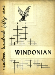 Page 1, 1959 Edition, Windham High School - Windonian Yearbook (Windham, ME) online yearbook collection