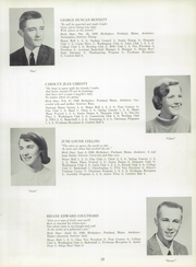 Page 17, 1958 Edition, Scarborough High School - Four Corners Yearbook (Scarborough, ME) online yearbook collection
