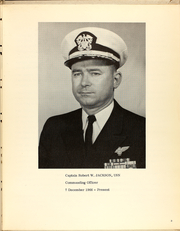 Page 7, 1967 Edition, Caliente (AO 53) - Naval Cruise Book online yearbook collection