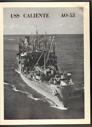 Page 5, 1968 Edition, Caliente (AO 53) - Naval Cruise Book online yearbook collection