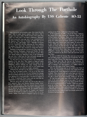 Page 6, 1968 Edition, Caliente (AO 53) - Naval Cruise Book online yearbook collection