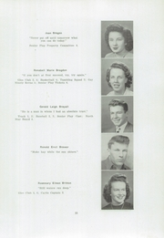 Page 13, 1947 Edition, Houlton High School - North Star Yearbook (Houlton, ME) online yearbook collection