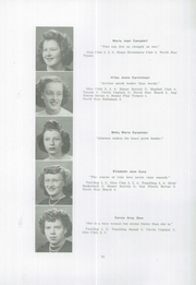 Page 14, 1947 Edition, Houlton High School - North Star Yearbook (Houlton, ME) online yearbook collection