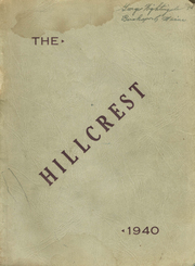 1940 Edition, Bucksport High School - Hillcrest Yearbook (Bucksport, ME)