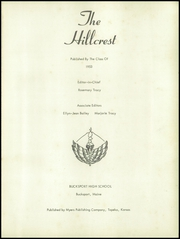 Page 5, 1953 Edition, Bucksport High School - Hillcrest Yearbook (Bucksport, ME) online yearbook collection