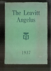 Page 1, 1937 Edition, Leavitt Area High School - Angelus Yearbook (Turner, ME) online yearbook collection