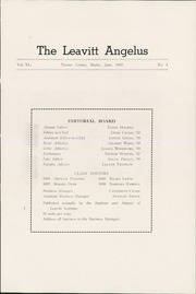 Page 5, 1937 Edition, Leavitt Area High School - Angelus Yearbook (Turner, ME) online yearbook collection